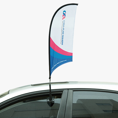 item car windows flags a